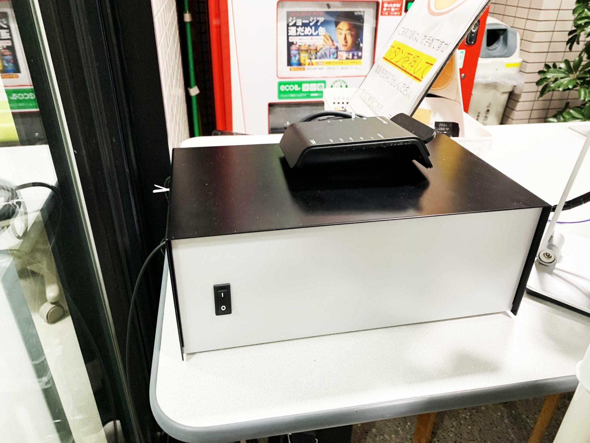 【金子病院様】導入 自動ドア制御型タブレット型無線LAN卓上タイプ